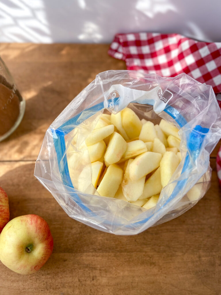 How to Freeze Apples