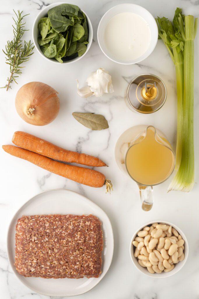 white bean soup ingredients