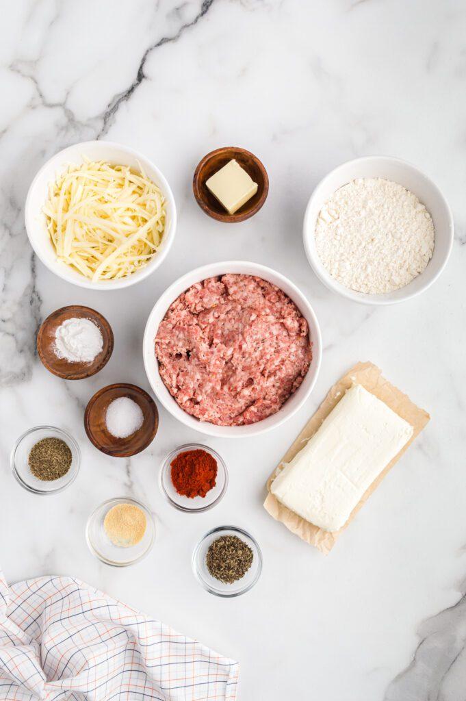Sausage ball ingredients