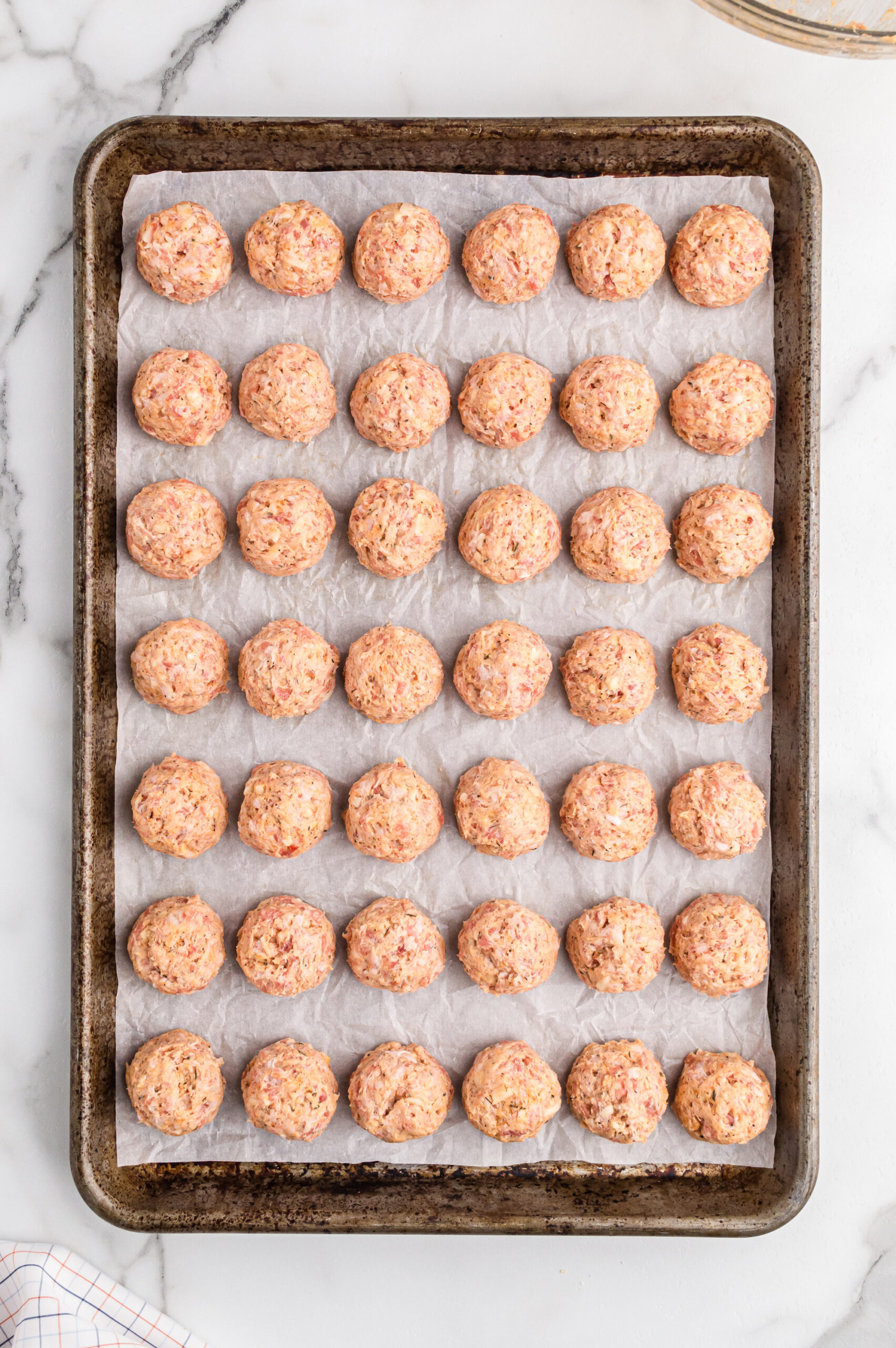 Sausage Balls with Cream Cheese - This Farm Girl Cooks